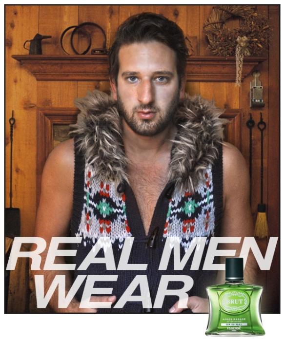 real men wear brut