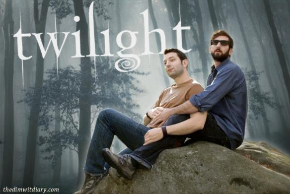001 Sparkly Vampire Twilight Poster