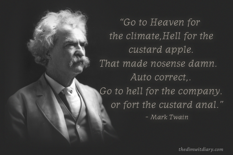 Mark Twain Famous Quotes About Life