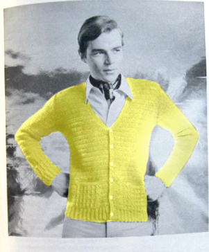 Canary Yellow Cardigan2