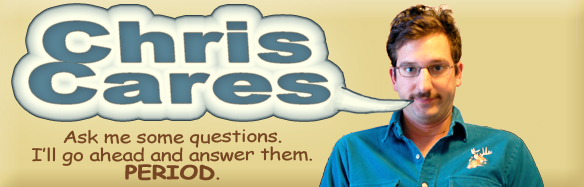 Chris cares Logo