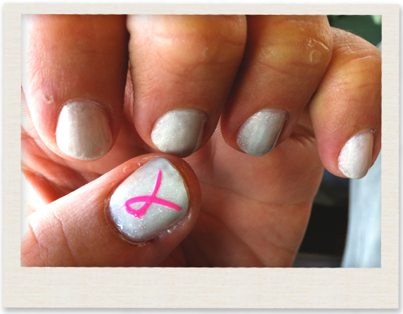 Breast Cancer Mani Pedi