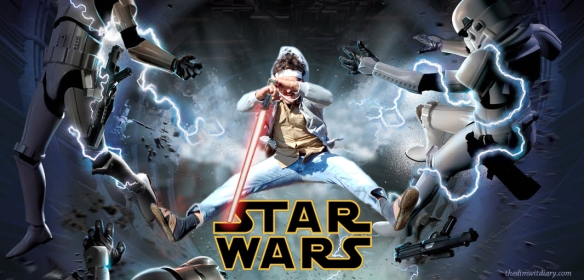 Chris Star Wars Poster