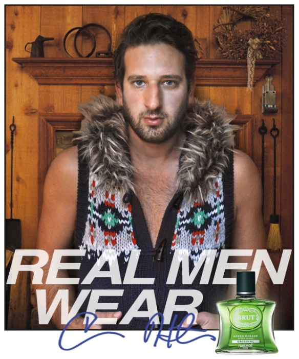 real men wear brut