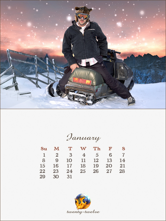 001 January Mayan Calendar