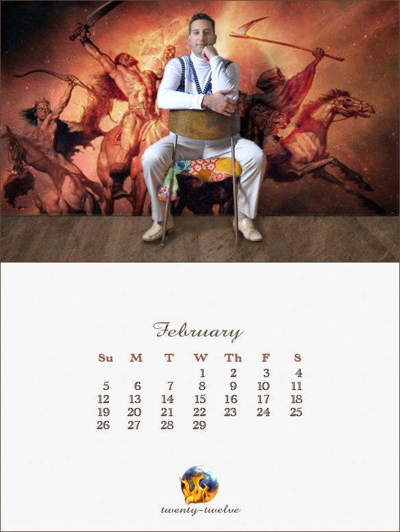 002 February Mayan Calendar