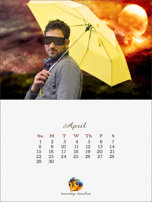 004 April Mayan Calendar