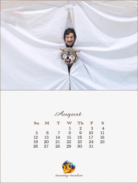 008 August Mayan Calendar