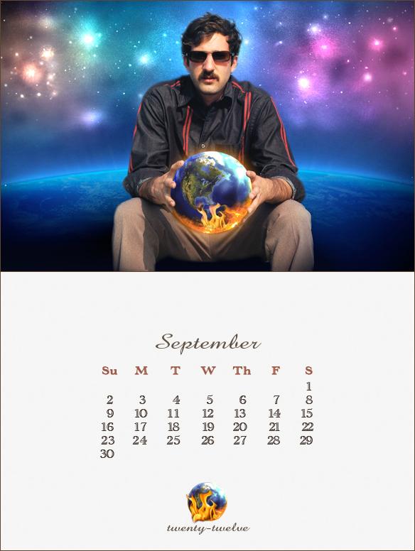 009 September Mayan Calendar