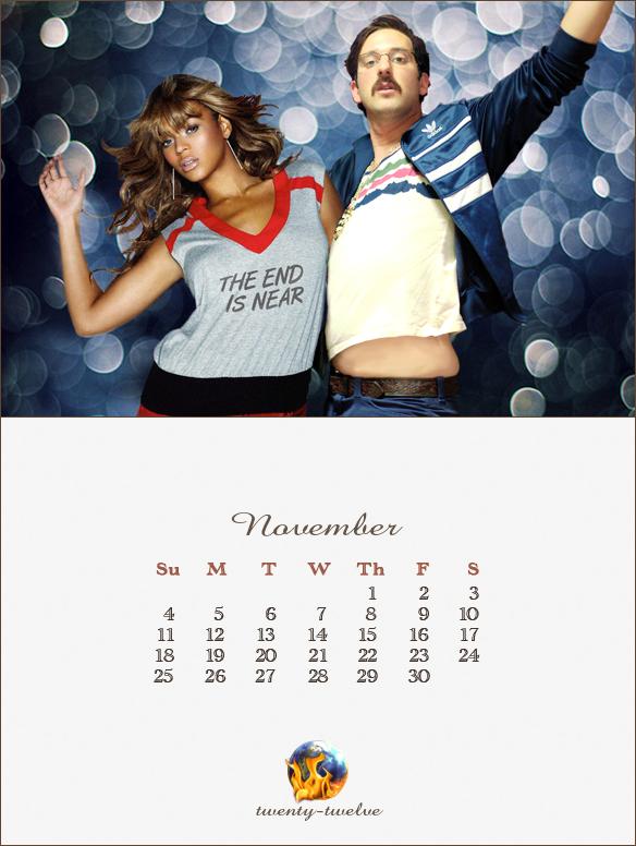 011 November Mayan Calendar